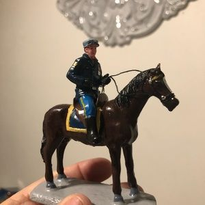 Lemax Officer on a horse